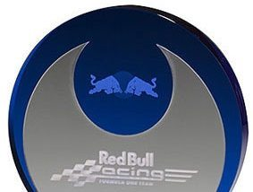 3D-Laser Acryl-Award Angle Wing Lasergravuren