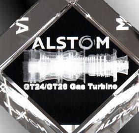 3D-Laser giveaway Anerkennungspreis Kristallglaswürfel