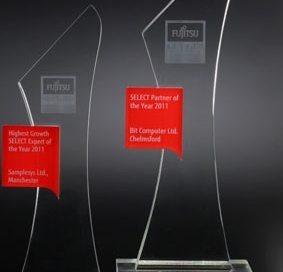 3D-Laser Sonderanfertigung Fujitsu-Awards
