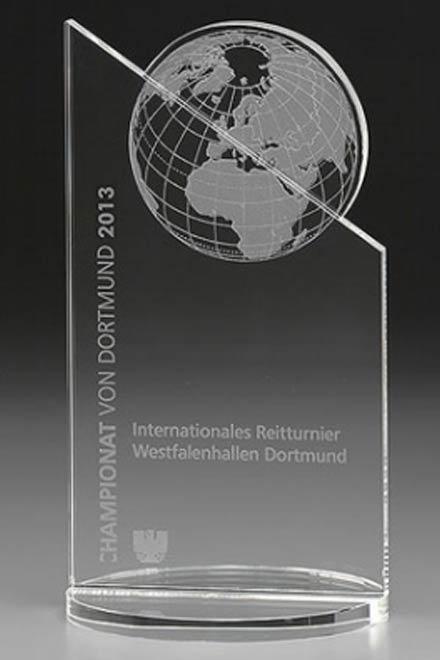 3D-Laser Weltdarstellung Lasergravur Award