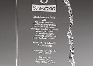 Acryl Award mit Lasergravur