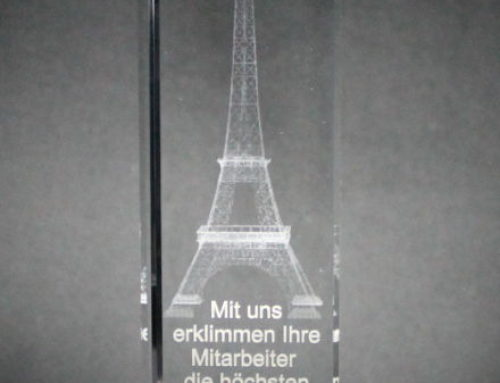 Award Bregenz – Novelty 2018 / interior glass engraving