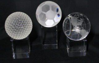 3D Lasergravur Glas Trophäen Sportauszeichnungen