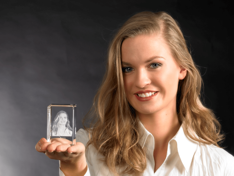 3D-Laser, ideales Lehrabschlussgeschenk