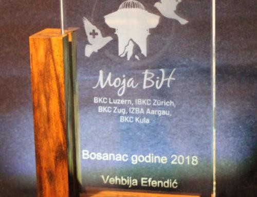 Award Schlicht und Einfach mit Holzrahmen