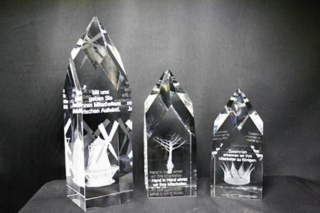 Awards, Auszeichnungen, 3d-Laser